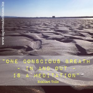 one conscious breath