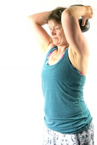 kettlebell triceps ext