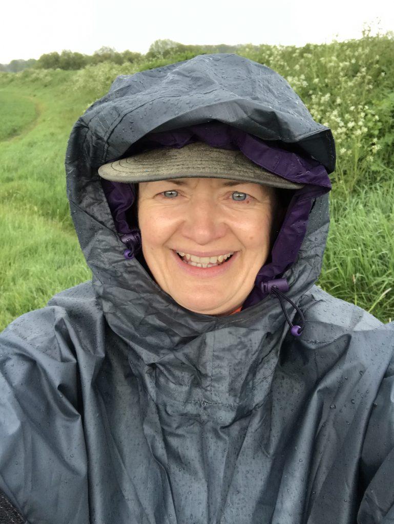 rain poncho happiness