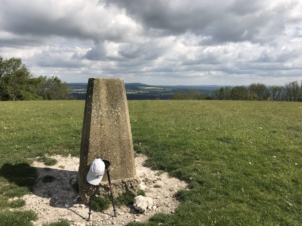 south downs way trig point