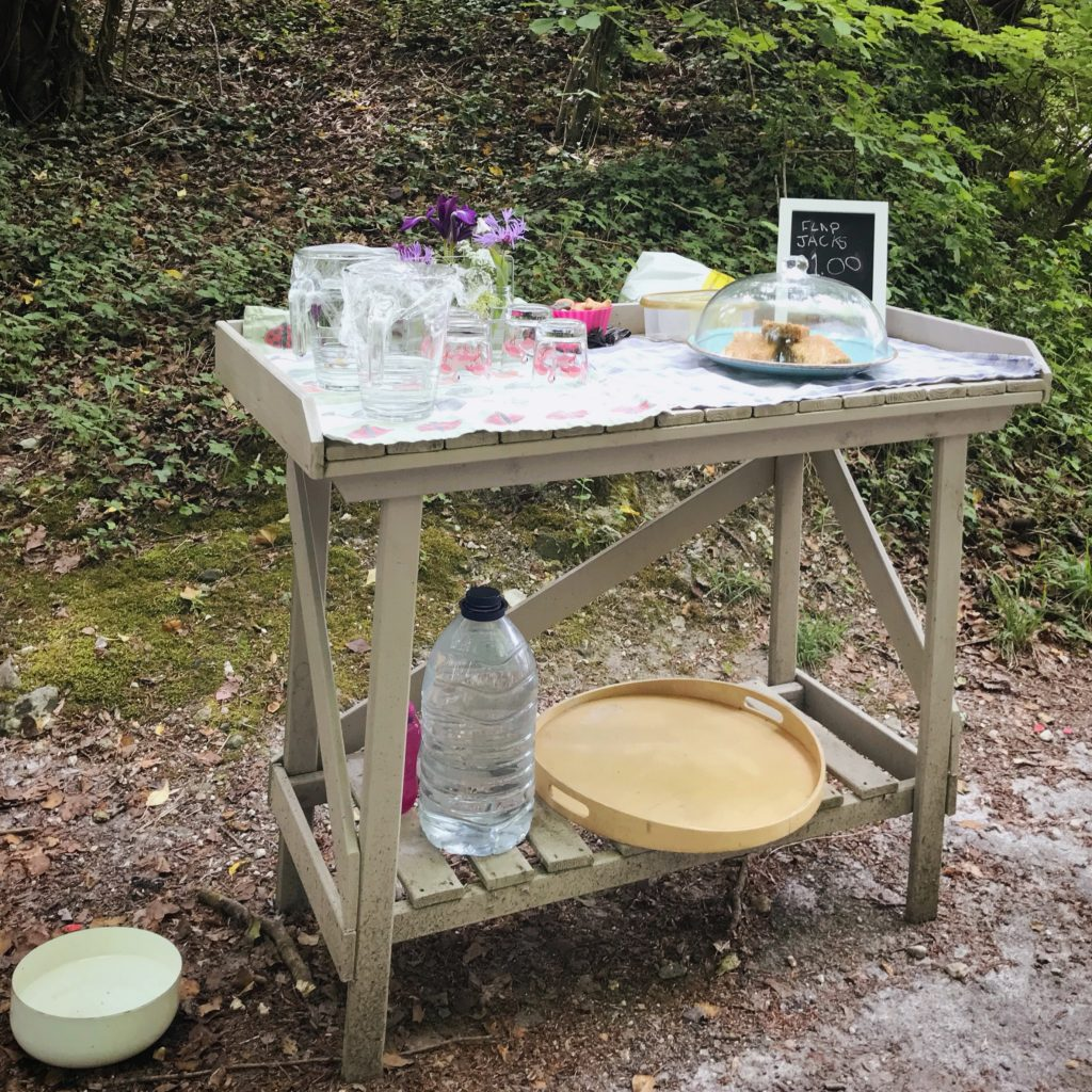 Honesty table along the South Downs Way