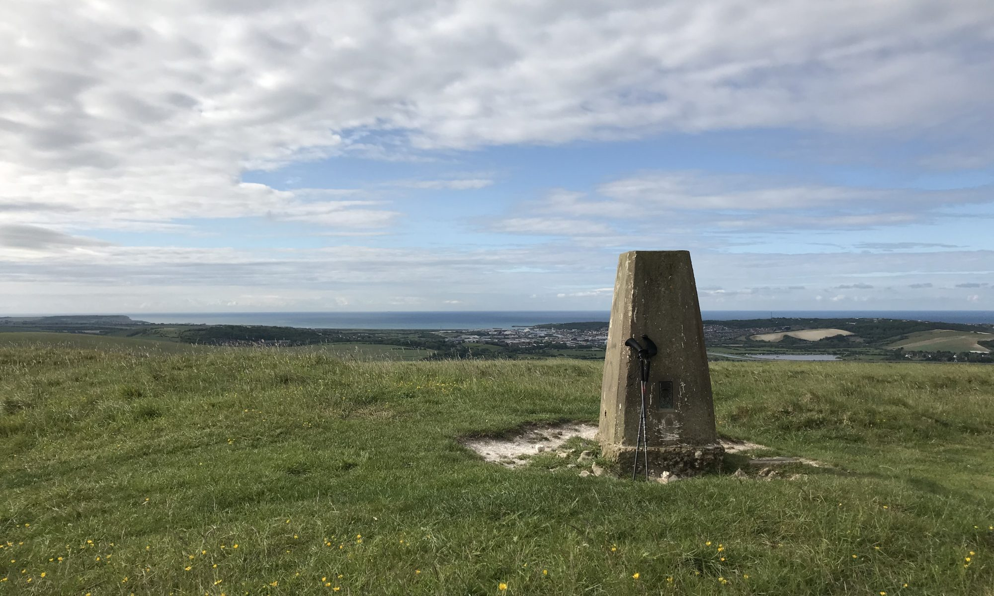 walking on the south downs way