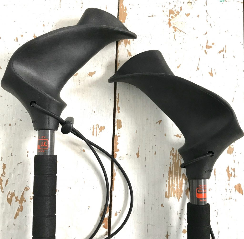 Pacerpoles ergonomic handle design