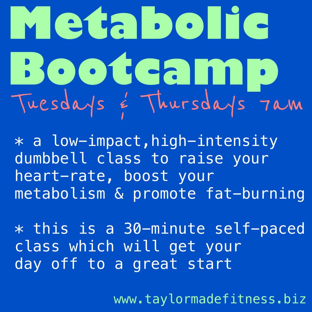metabolic bootcamp